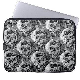 Suicide Squad | Skull Pattern Laptop Sleeve