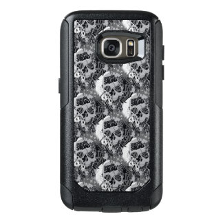 Suicide Squad | Skull Pattern OtterBox Samsung Galaxy S7 Case