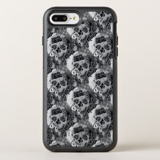 Suicide Squad | Skull Pattern OtterBox Symmetry iPhone 8 Plus/7 Plus Case
