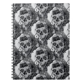 Suicide Squad | Skull Pattern Spiral Note Book