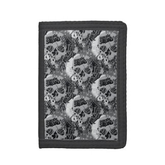 Suicide Squad | Skull Pattern Tri-fold Wallet