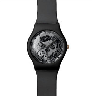 Suicide Squad | Skull Pattern Watch