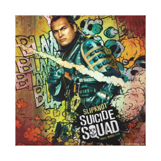 Suicide Squad | Slipknot Character Graffiti Canvas Print