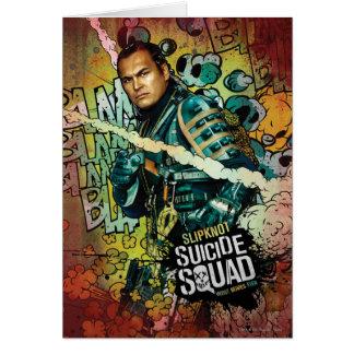 Suicide Squad | Slipknot Character Graffiti Card