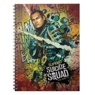 Suicide Squad   Slipknot Character Graffiti Spiral Note Books