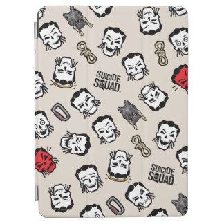 Suicide Squad | Slipknot Emoji Pattern iPad Air Cover
