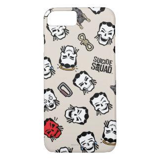 Suicide Squad   Slipknot Emoji Pattern iPhone 8/7 Case