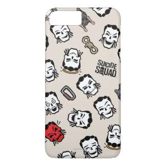 Suicide Squad   Slipknot Emoji Pattern iPhone 8 Plus/7 Plus Case