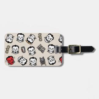 Suicide Squad | Slipknot Emoji Pattern Luggage Tag