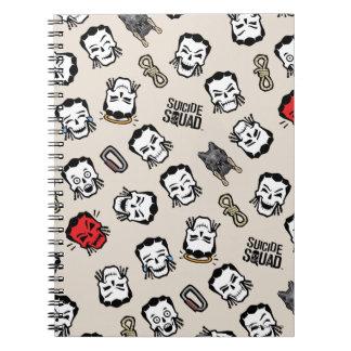 Suicide Squad | Slipknot Emoji Pattern Notebooks