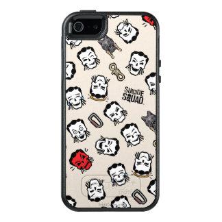 Suicide Squad | Slipknot Emoji Pattern OtterBox iPhone 5/5s/SE Case