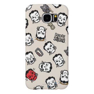 Suicide Squad | Slipknot Emoji Pattern Samsung Galaxy S6 Cases