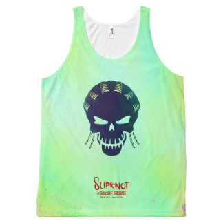 Suicide Squad | Slipknot Head Icon 2 All-Over Print Tank Top