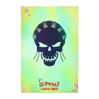 Suicide Squad | Slipknot Head Icon Canvas Print