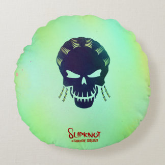 Suicide Squad | Slipknot Head Icon Round Cushion