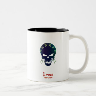 Suicide Squad | Slipknot Head Icon Two-Tone Coffee Mug