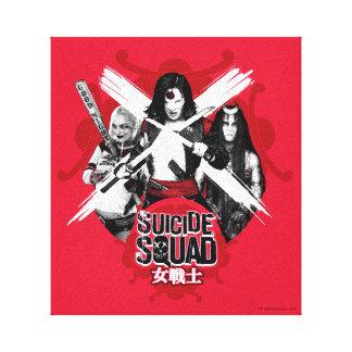 "Suicide Squad   Squad Girls ""Female Warrior"" Canvas Print"
