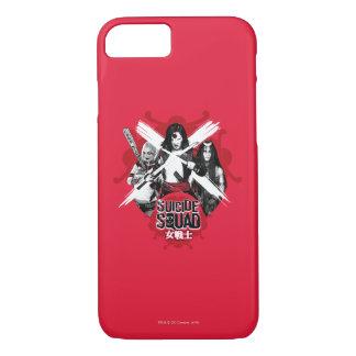 """Suicide Squad   Squad Girls """"Female Warrior"""" iPhone 8/7 Case"""