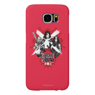 "Suicide Squad | Squad Girls ""Female Warrior"" Samsung Galaxy S6 Cases"