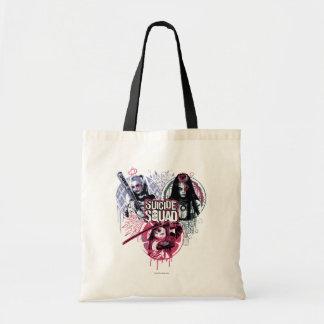 Suicide Squad | Squad Girls Graffiti Badges