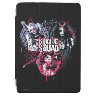 Suicide Squad | Squad Girls Graffiti Badges iPad Air Cover