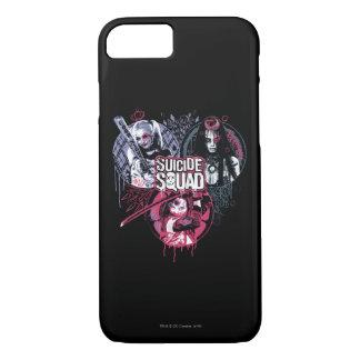 Suicide Squad   Squad Girls Graffiti Badges iPhone 8/7 Case