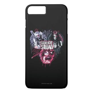 Suicide Squad | Squad Girls Graffiti Badges iPhone 8 Plus/7 Plus Case