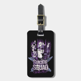 "Suicide Squad | Squad Girls ""In Squad We Trust"" Luggage Tag"
