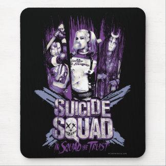"Suicide Squad | Squad Girls ""In Squad We Trust"" Mouse Mat"