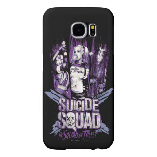 "Suicide Squad | Squad Girls ""In Squad We Trust"" Samsung Galaxy S6 Cases"