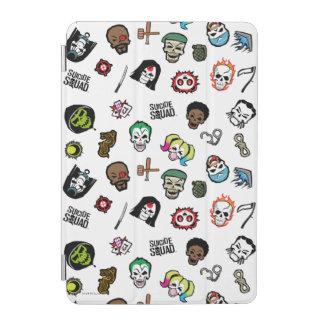 Suicide Squad | Suicide Squad Emoji Pattern iPad Mini Cover