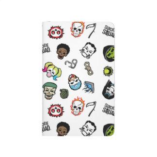 Suicide Squad | Suicide Squad Emoji Pattern Journals