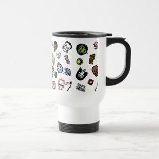 Suicide Squad | Suicide Squad Emoji Pattern Travel Mug