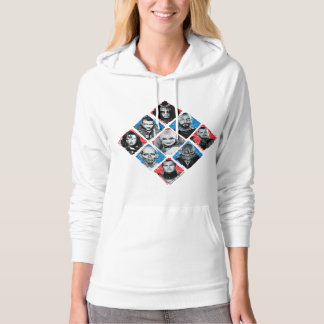 Suicide Squad   Task Force X Checkered Diamond Hoodie