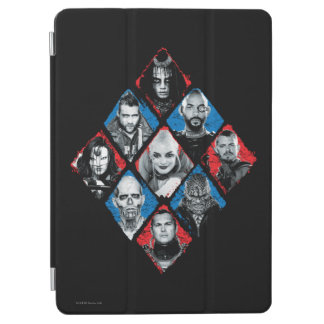 Suicide Squad | Task Force X Checkered Diamond iPad Air Cover