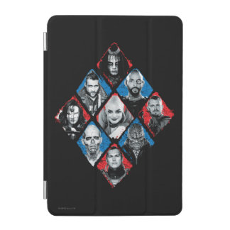 Suicide Squad | Task Force X Checkered Diamond iPad Mini Cover