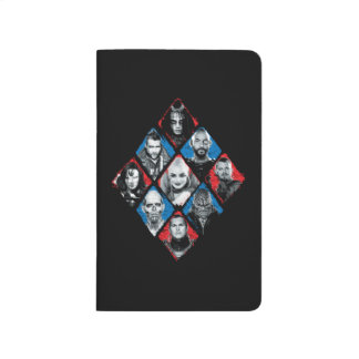 Suicide Squad | Task Force X Checkered Diamond Journal