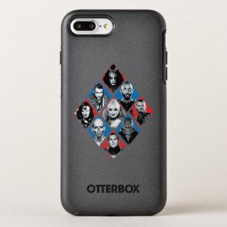 Suicide Squad | Task Force X Checkered Diamond OtterBox Symmetry iPhone 8 Plus/7 Plus Case