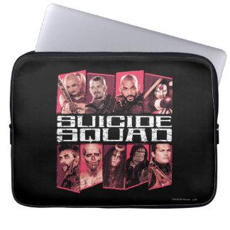 Suicide Squad | Task Force X Group Emblem Laptop Sleeve
