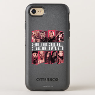 Suicide Squad | Task Force X Group Emblem OtterBox Symmetry iPhone 8/7 Case