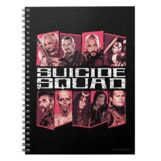 Suicide Squad | Task Force X Group Emblem Spiral Notebook