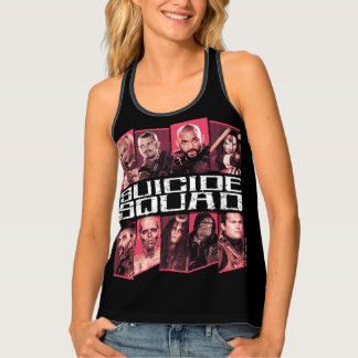 Suicide Squad | Task Force X Group Emblem Tank Top