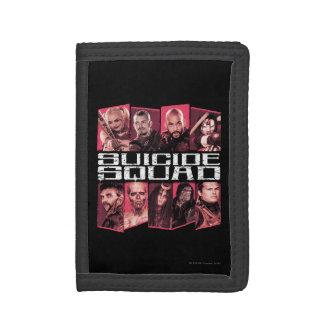 Suicide Squad | Task Force X Group Emblem Tri-fold Wallet