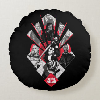 Suicide Squad | Task Force X Japanese Graphic Round Cushion
