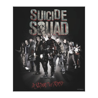 Suicide Squad  Task Force X Lineup Canvas Print