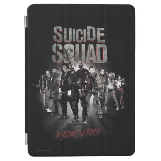 Suicide Squad |Task Force X Lineup iPad Air Cover