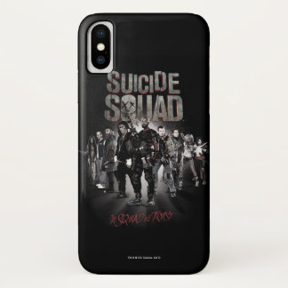 Suicide Squad |Task Force X Lineup iPhone X Case