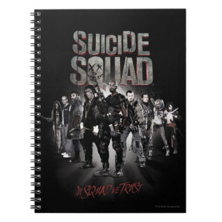 Suicide Squad |Task Force X Lineup Notebook