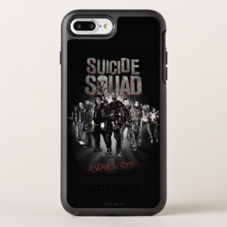 Suicide Squad |Task Force X Lineup OtterBox Symmetry iPhone 8 Plus/7 Plus Case