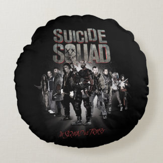 Suicide Squad |Task Force X Lineup Round Cushion